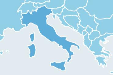 Mapa italia IVA
